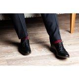 """Бокс мужских носков подарочный набор """"Бурбон"""" 40 пар"""