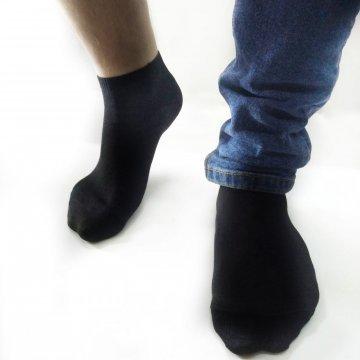 """Носки мужские укороченные 100 пар за 2000  """"Черный спорт"""""""