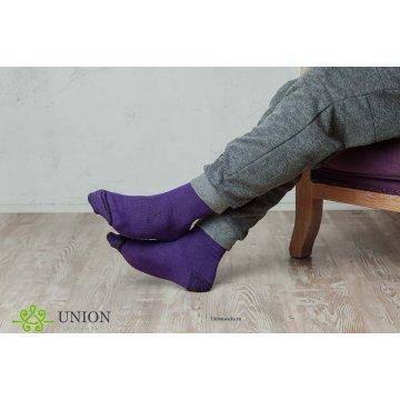 """Носки мужские 10 пар """"Фиолетовый"""""""