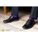 Носки мужские 10 пар – Фиолетовый Ромб