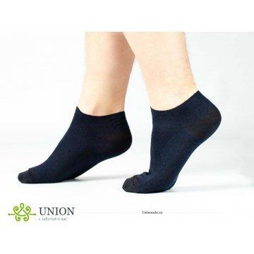 "Носки мужские укороченные 10 пар за ""Синий спорт"""