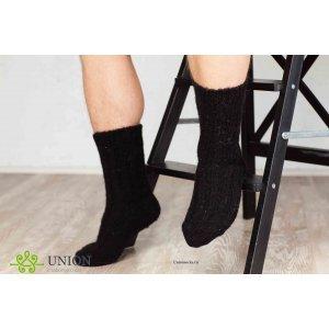 Черные шерстяные носки