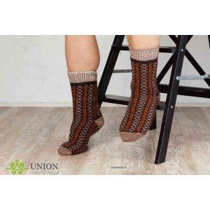 Шерстяные носки Мокко