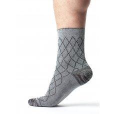 """Подарочный бокс мужских классических носков """"Микс Яркий ромб"""" 40 пар"""